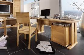 Holz Schreibtisch Massivholz Eckschreibtisch Buche Geölt Palermo Schreibtisch