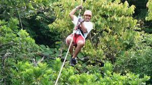 Treetop Canopy Tours by Zip Line Tour In Costa Rica Over Montezuma Waterfalls Adventure