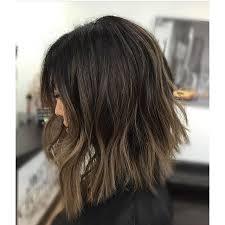 long bob hairstyles brunette summer balayage dark hair straight buscar con google hair pinterest