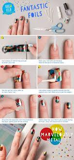 tutorial nail art foil foil paper nail design sole tutorials nail art ideas pinterest
