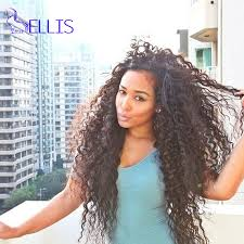 fashion curly virgin 3 bundles natural color peruvian