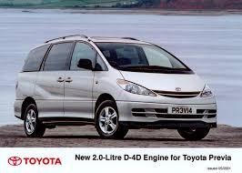 new d 4d engine for previa toyota uk media site