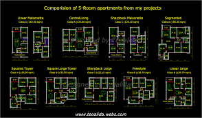 apartment plans 30 200 sqm u0026 architecture design services
