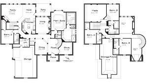 baby nursery 4 bedroom house plans 2 story 4 bedroom house plans