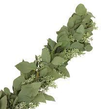 seeded eucalyptus garland garlands wedding and wedding flower