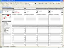 Monthly Spreadsheet Weekly Schedule Template Excel And Time Management Schedule