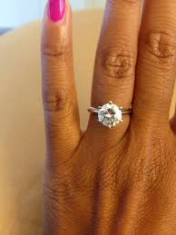 2ct engagement rings show me your 1 5 2ct solitaire engagement rings and