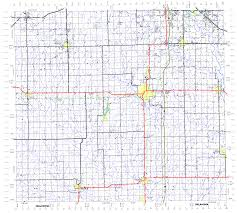 Oklahoma Counties Map Township Map Of Sumner County