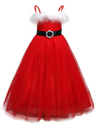 aliexpress com buy fancy baby dress winter red christmas party