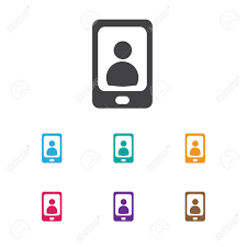 icon bureau vector illustration of bureau symbol on phone icon royalty free