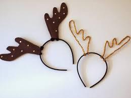 reindeer antlers headband diy reindeer antler headbands pink stripey socks