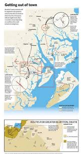 Map Of Beaufort Sc Here Is What You Need To Know About Evacuation Routes In Beaufort