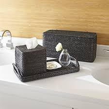 Bamboo Bathroom Accessories by Bathroom Accessories And Furniture Crate And Barrel