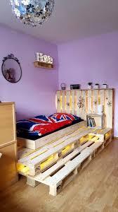 Platform Bed Led 42 Diy Recycled Pallet Bed Frame Designs