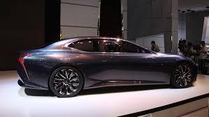 lexus lf recall lf lc concept heralds future lexus fuel cell flagship sedan auto