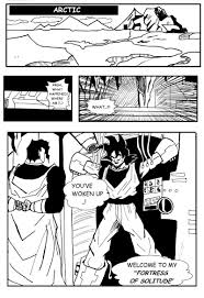 dragon ball fan manga fan manga son goku and superman the clash kanzenshuu