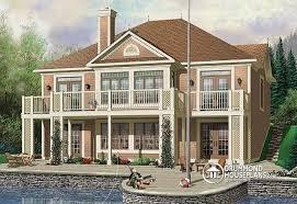 Lakehouse Floor Plans Lake House Floor Plans With Walkout Basement Basements Ideas