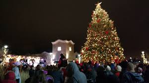 papillion event christmas tree lighting event at shadow lake towne