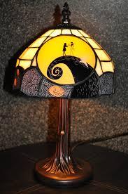 disney pixar fanatics nightmare before christmas tiffany lamp