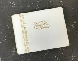 Our Wedding Photo Album Vintage Wedding Photo Album Etsy