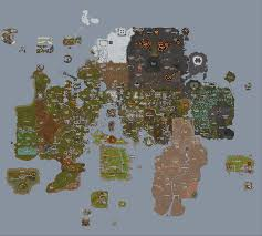 Oldschool Runescape World Map by V Video Games Thread 365132786
