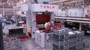 tesla factory inside the tesla plant in fremont california autoweek