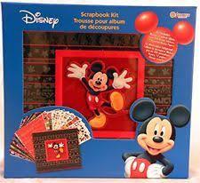 Mickey Mouse Photo Album Disney Scrapbook Album Ebay
