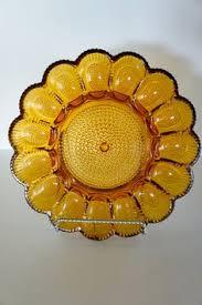 vintage deviled egg platter 1940s glass deviled egg platter home is where the is