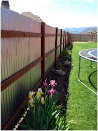 modern fence backyards superb 25 best ideas about backyard fences on