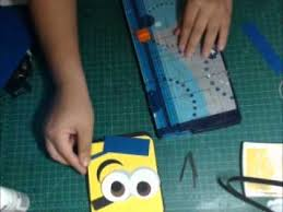 minions birthday card punch art youtube