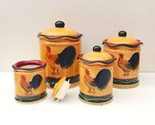 ebay kitchen canisters ceramic kitchen canister sets ebay