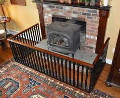 details about handcrafted one of a kind baby safety hearth gate welded steel solid gany