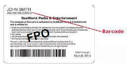 Busch Gardens Williamsburg Fall Fun Card - pass members busch gardens williamsburg