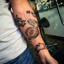Map Tattoo Browse Worlds Largest Tattoo Image Gallery Trueartists Com