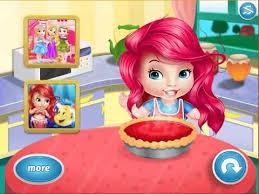jeux de spongebob cuisine bébé cuisine usine pour des jeux enfants princesse ariel