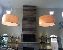 Oversized Pendant Light Custom 36 Inch Large Drum Pendant Light Fixture