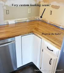 Diy Wood Kitchen Countertops by Best 25 Cheap Countertops Ideas On Pinterest Cheap Cupboards