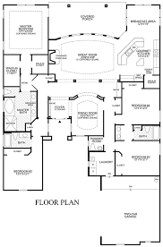custom floorplans one story open floor plan design ideas toll brothers