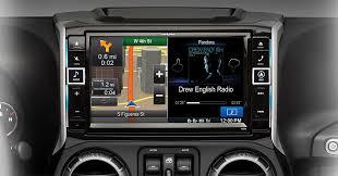 jeep wrangler navigation system alpine x009 wra go big with your jeep wrangler