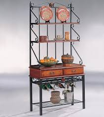 wine racks for kitchen cabinets tobacco brownmetal 3 shelf kitchen cabinet with wine rack 8