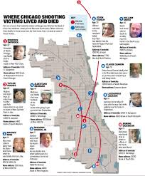 Chicago Gang Map Close To Home Murders Another Element Of Chicago U0027s Violent Year