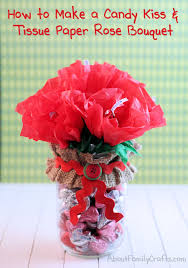 halloween kiss candy diy candy kiss and tissue paper roses