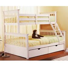Marina White Twin Full Bunk Bed Girls Beds White Toronto - Double bunk beds