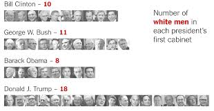 What Is A Cabinet In Politics Trump U0027s Cabinet So Far Is More White And Male Than Any First