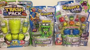 trash pack u0026 grossery gang toys action figures 12 packs toy