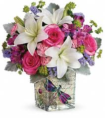 flowers and gifts teleflora s garden poetry bouquet in nepean on greenbank flowers