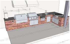 Outdoor Kitchen Plans by Outdoor Kitchen Appliances Lightandwiregallery Com