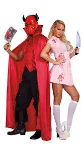 Scream Halloween Costumes Scream Team Couples Costume Men U0027s Hell Guy Devil Costume