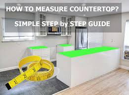 how to measure for an island countertop how to measure countertops best way wizards