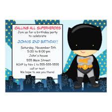 superhero invitations u0026 announcements zazzle